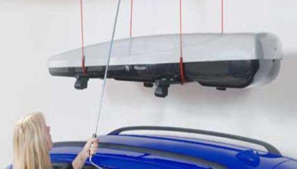 Boxlift für Dachboxen bis 100 kg passed für die Dachboxen von © surfbox.de