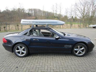 Dachbox Black Shark Premium  Fiberglas GFK, 480 Liter, Tragkraft 95 kg - Die orginal box2000 nur von © surfbox.de