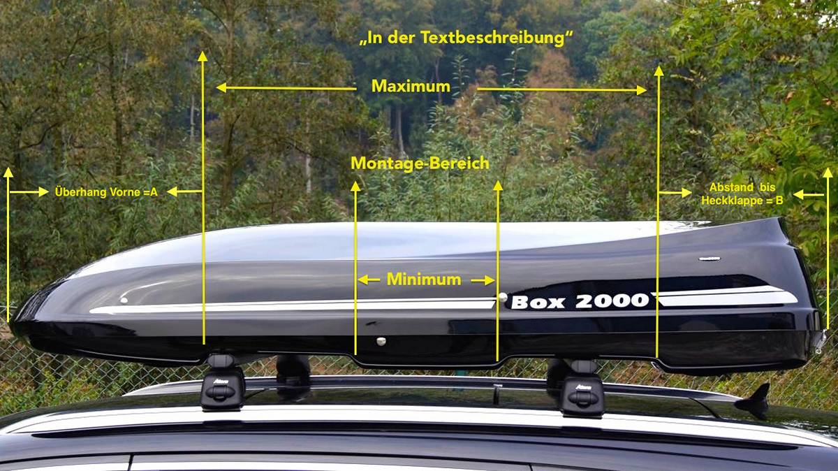 Alb 390 Roof Box Premium Roof Box Made Of Grp By Mobila