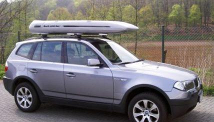 Surfbox Dachbox SLB 300  Fiberglas GFK, 300 Liter, Tragkraft 100 kg - Die orginal SURF LINE BOX nur von © surfbox.de