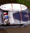 Dachbox   Mobila auf Typen und Farben             Fiberglas GFK, 900 Liter, Tragkraft 130 kg   Die orginal SURF LINE BOX nur von & ;  .  - © surfbox.de
