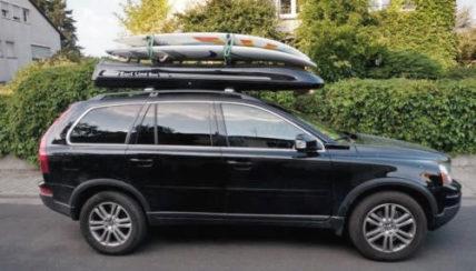 Surfbox Dachbox SLB 280 Fiberglas GFK, 400 Liter, Tragkraft 100 kg - Die orginal SURF LINE BOX nur von © surfbox.de