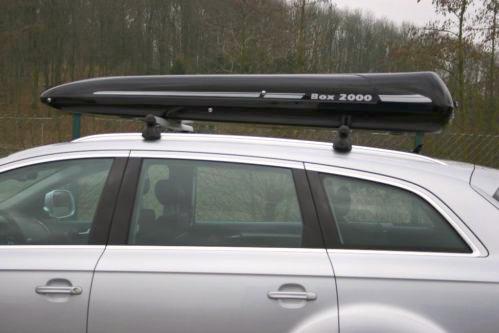Sonderposten 1 x Dachbox Black Shark passed für die Dachboxen von © surfbox.de