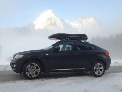 BMW Skibox Kundenbilder Big-Malibu XL SURF inkl. Surfbretthalter