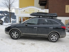 Hyundai Photos of ROOF BOXES Big-Malibu XL Surf roof box with surfboard rack