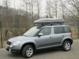Skoda Photos of ROOF BOXES Big-Malibu XL Surf roof box with surfboard rack