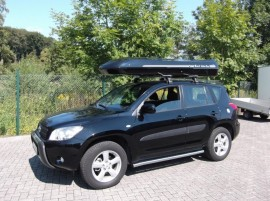 Dachbox  Toyota rav4 big malibu xl  von Mobila - in Kundenbilder © surfbox.de