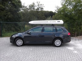 Dachbox    vw golf 7 avant SURF LINE BOX 580  von Mobila - in Kundenbilder © surfbox.de