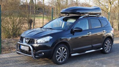 Nissan Qua Kundenbilder Big-Malibu XL SURF inkl. Surfbretthalter