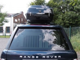 Range Rover Big Malibu Photos of ROOF BOXES Big-Malibu XL Surf roof box with surfboard rack