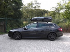 Renault Laguna Beluga Kompakt Photos of ROOF BOXES Big-Malibu XL Surf roof box with surfboard rack