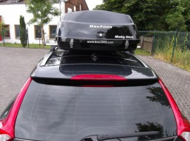 Volvo Moby Dick Photos of ROOF BOXES Big-Malibu XL Surf roof box with surfboard rack