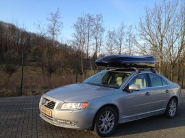 Volvobelugaxxl Photos of ROOF BOXES Big-Malibu XL Surf roof box with surfboard rack