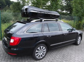 En Skoda DSCF  Photos of ROOF BOXES Big-Malibu XL Surf roof box with surfboard rack