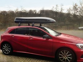 Dachbox Moby Dick sl premium  von Mobila - in Kundenbilder © surfbox.de