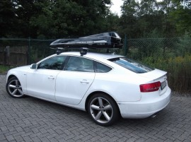 Audi  Moby Dick Photos of ROOF BOXES Big-Malibu XL Surf roof box with surfboard rack