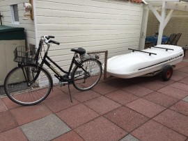 Top Image  Foto's van dakkoffers Big-Malibu XL Surf met surfplankhouder