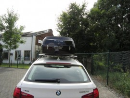 BMW Big Malibu box sul tetto