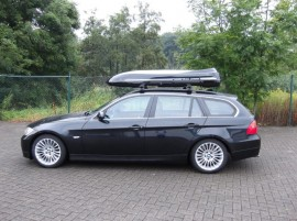 BMW Bmw Moby Dick box sul tetto