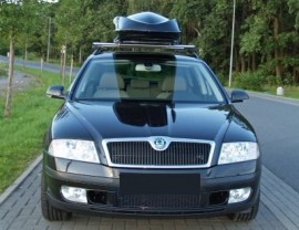 Kombi Skoda Roof boxes station wagon