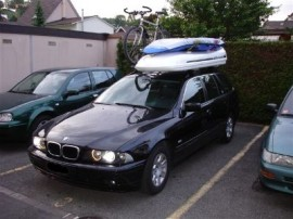 Kombi Surfbox Bmw Dakkoffers stationwagen