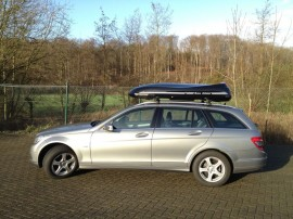 Kombi Mercedes Roof boxes station wagon