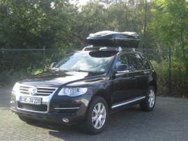 Beluga Schwarz Dachbox VW