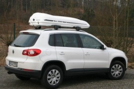 Moby Dick Weiss Tiguan ROOF BOXES VW