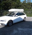 Dachbox von Mobila auf      audi a4 avant big malibu  - © surfbox.de