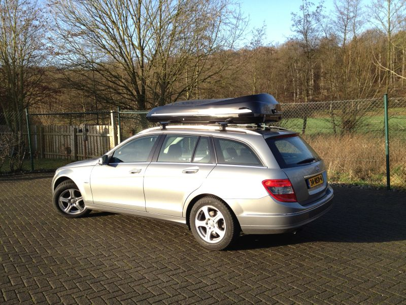 Roof boxes mercedes benz premium roof box made of grp by for Mercedes benz roof box