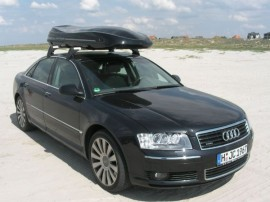 Kunde Vorn  Mobila Skibox Box ROOF BOXES Audi