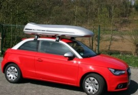 Mdxl Silber ROOF BOXES Audi