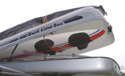 Innenhalterung passed für die Dachboxen von © surfbox.de