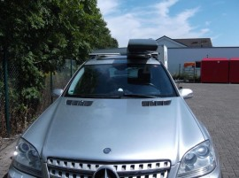 Mercedes Slb  Grau ROOF BOXES Benz
