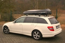 Mobyschw Mercedes Weiss  ROOF BOXES Benz