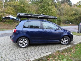 Golf Plus Malibu  ROOF BOXES VW