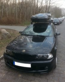 BMW 3er Coupe Dachboxen BMW Beluga Golf Dachbox – Vorsprung durch Qualitaet