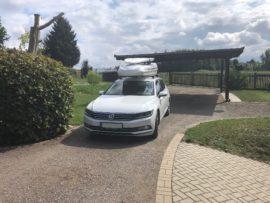 Volkswagen Passat Dachbox VW Big-Malibu XL SURF inkl. Surfbretthalter
