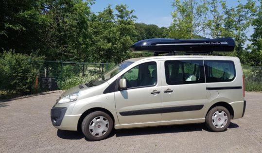 Fiat Scudo Kundenbilder Jumbo XL  – größte Dachbox nur von Mobila mit 1500L Volumen