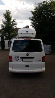 Volkswagen T5 Kundenbilder Malibu Wave XL – Große Premium Dachbox (1200 L Volumen)