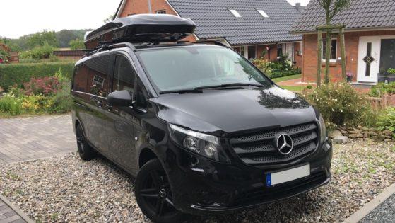 Mercedes Vito  Kundenbilder Jumbo XL  – größte Dachbox nur von Mobila mit 1500L Volumen