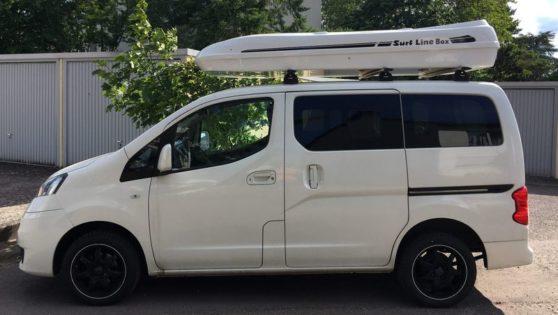 Nissan NV Kundenbilder Jumbo – große Premium Dachbox mit 1300L Volumen