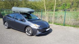 Toyota Hybrid Dachbox Toyota Beluga XXL roof box – Holidays with your dog