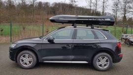 Audi Q5 Dachboxen Audi Jumbo – große Premium Dachbox mit knapp 1400 L Volumen