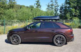 "Audi Q8 Dachboxen Audi Dachbox Moby Dick ""Aktion alles inklusive"""
